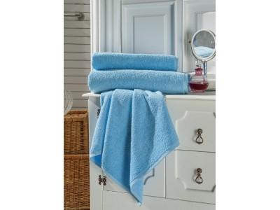 Toptan El Havlusu Turkuaz Mavi Renkli 50x90cm  ( 1 Adet Toptan Satış Fiyatı )